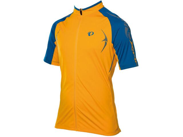 PEARL iZUMi X-Alp Kurzarm Trikot Herren blazing orange/mykonos blue